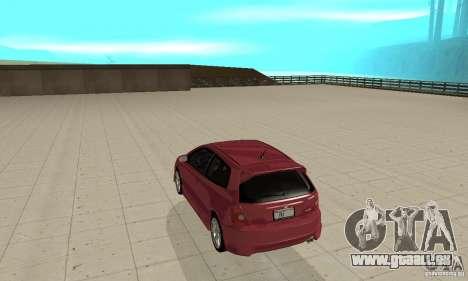 Honda Civic Type R - Stock + Airbags pour GTA San Andreas vue de droite