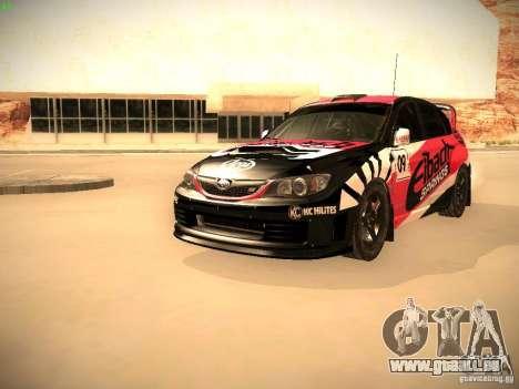 Subaru Impreza Gymkhana für GTA San Andreas Innen