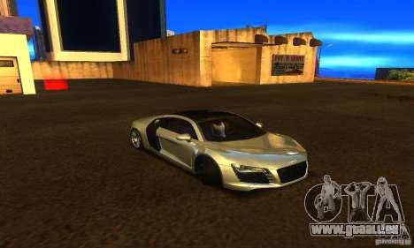 Audi R8 V12 TDI pour GTA San Andreas vue de droite