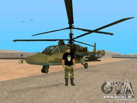 KA-52 Alligator pour GTA San Andreas