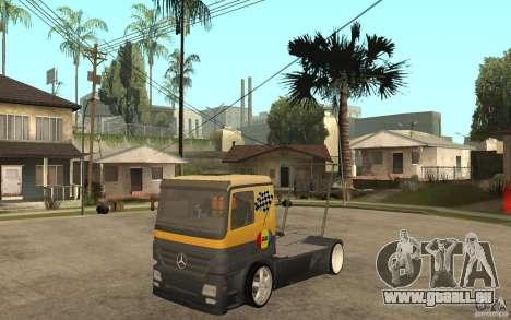 Mercedes Benz Actros Dragster pour GTA San Andreas