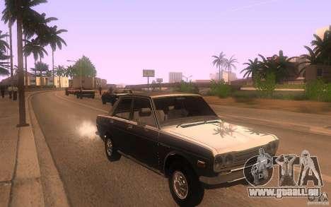 Datsun 510 4doors pour GTA San Andreas vue arrière