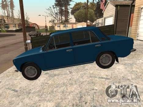 VAZ 21011 pour GTA San Andreas laissé vue