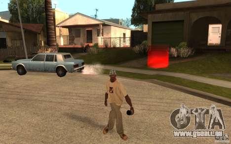 Life pour GTA San Andreas cinquième écran