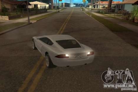 F620 de GTA TBoGT pour GTA San Andreas vue de côté