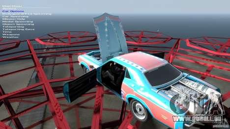 Afterburner Flatout UC pour GTA 4 vue de dessus