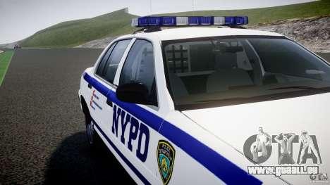 Ford Crown Victoria NYPD [ELS] pour le moteur de GTA 4