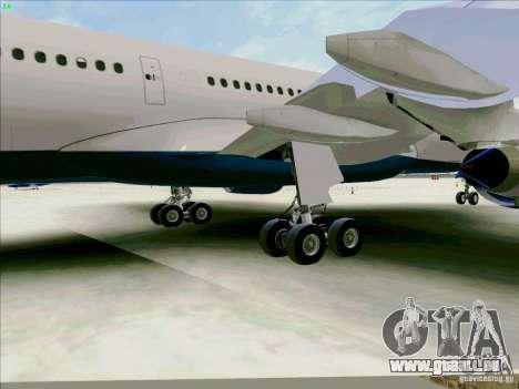 Airbus A330-200 für GTA San Andreas Seitenansicht