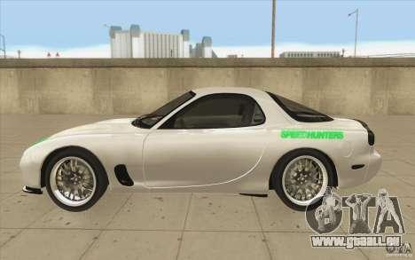 Mazda FD3S - Ebisu Style pour GTA San Andreas laissé vue