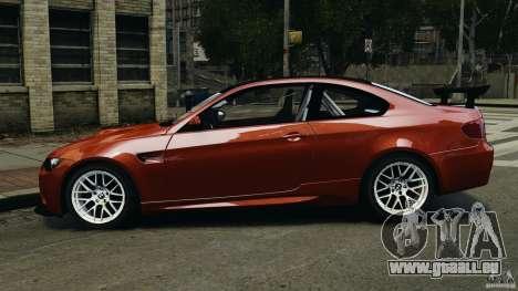 BMW M3 GTS 2010 für GTA 4 linke Ansicht
