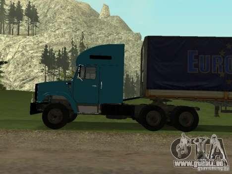 ZIL 133 pour GTA San Andreas vue de droite