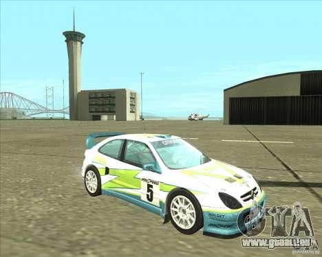 Citroen Xsara 4x4 T16 für GTA San Andreas Rückansicht