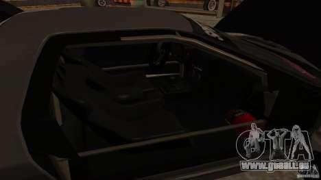 GTA Shift 2 Mazda RX-7 FC3S Speedhunters pour GTA San Andreas vue intérieure