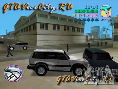 Toyota LAND CRUISER 80 für GTA Vice City