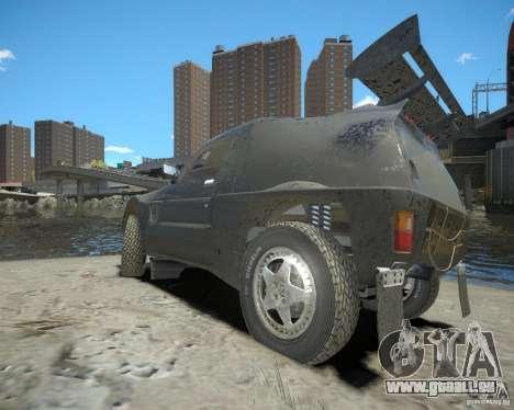 Mitsubishi Pajero Proto Dakar EK86 pour GTA 4 est un droit