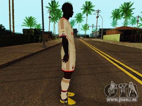 Mario Balotelli v2 für GTA San Andreas zweiten Screenshot