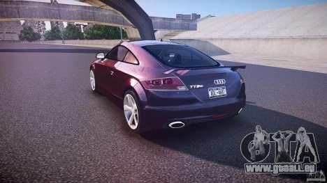 Audi TT RS v3.0 2010 pour GTA 4 Vue arrière de la gauche