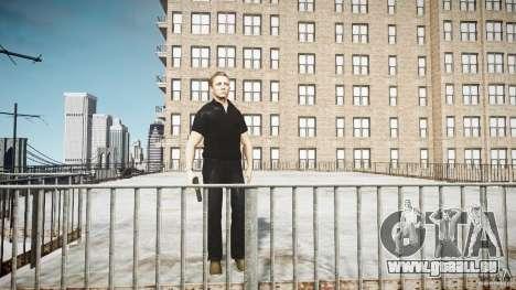 James Bond-Haut für GTA 4 dritte Screenshot