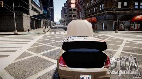 BMW M6 2013 pour GTA 4 est un côté