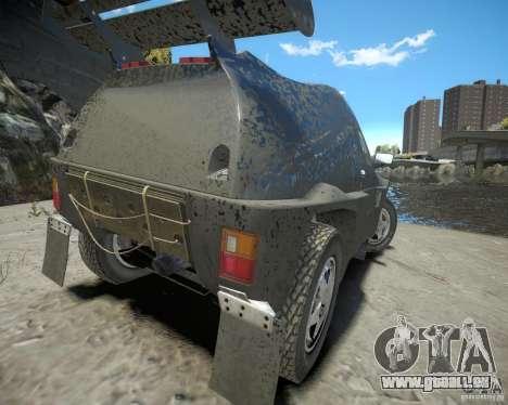 Mitsubishi Pajero Proto Dakar EK86 für GTA 4 hinten links Ansicht