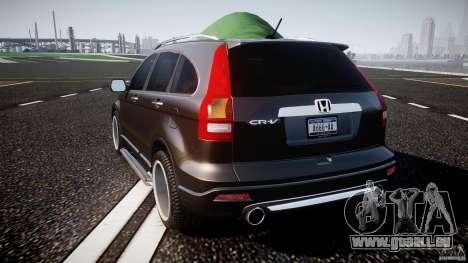 Honda C-RV SeX_BomB 2007 pour GTA 4 Vue arrière de la gauche