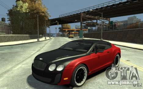 Bentley Continental GT SS für GTA 4