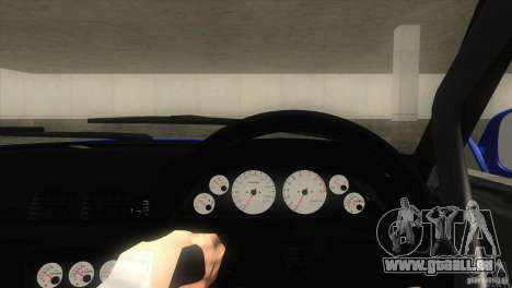 Nissan Skyline R32 GTS-T für GTA San Andreas Rückansicht