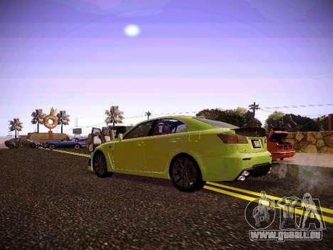 Lexus I SF pour GTA San Andreas vue de droite