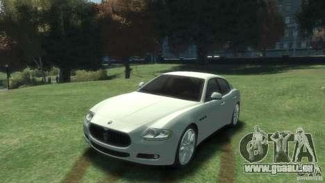 Maserati Quattroporte für GTA 4