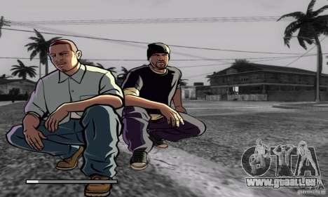 Loadscreens in GTA-IV Style für GTA San Andreas achten Screenshot