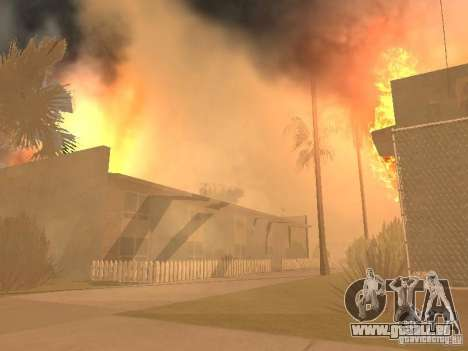 Tremblement de terre pour GTA San Andreas