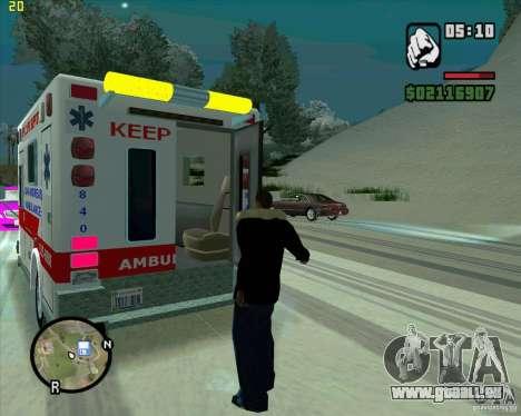Ambulance pour GTA San Andreas