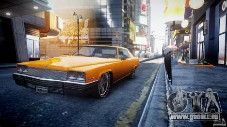 Manana Tuned für GTA 4 Rückansicht