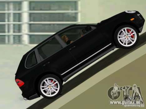 Porsche Cayenne Turbo S für GTA Vice City linke Ansicht