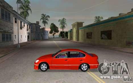 Lexus GS430 pour une vue GTA Vice City de la gauche