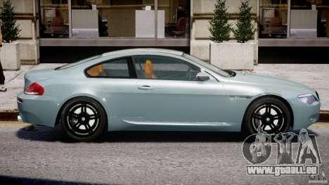 BMW M6 G-Power Hurricane pour GTA 4 est un côté