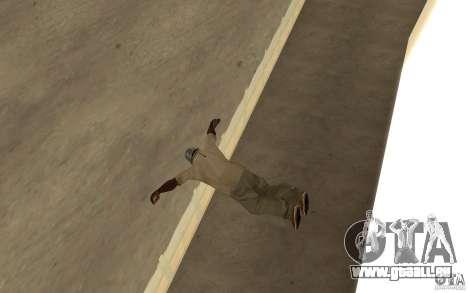 Nouveau automne pour GTA San Andreas deuxième écran