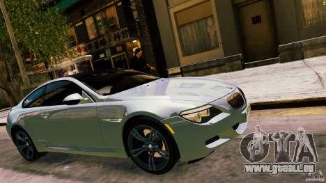 BMW M6 2010 pour GTA 4