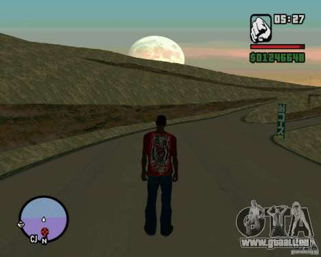 Ebisu Touge für GTA San Andreas