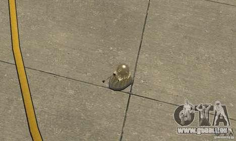 Dalek Doctor Who für GTA San Andreas rechten Ansicht