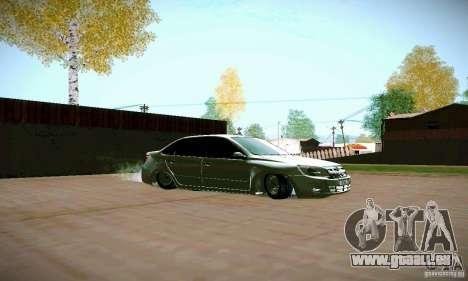 Subvention de Lada pour GTA San Andreas vue de droite