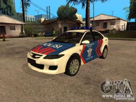 Mazda 6 Police Indonesia pour GTA San Andreas