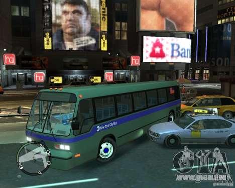 MTA NYC bus für GTA 4 rechte Ansicht