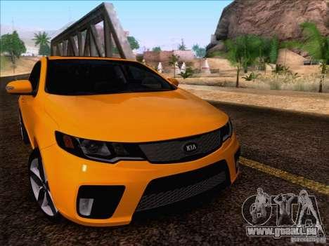 Kia Forte Koup SX für GTA San Andreas