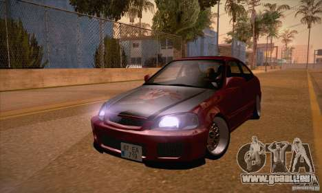 Honda Civic Tuning 2012 für GTA San Andreas