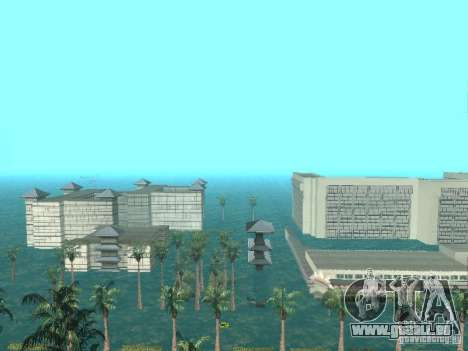 Inondation pour GTA San Andreas troisième écran