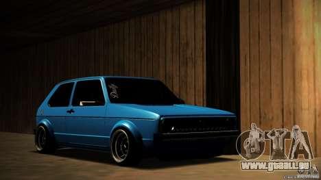 Volkswagen Golf Mk1 Euro pour GTA San Andreas