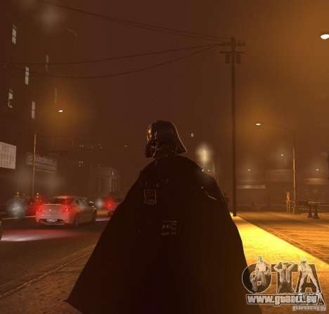 Dart Vader für GTA 4 fünften Screenshot