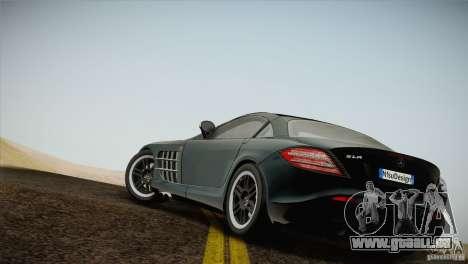 Mercedes SLR McLaren 722 Edition Final für GTA San Andreas linke Ansicht