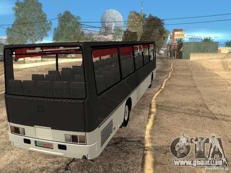 Ikarus Z50 pour GTA San Andreas vue intérieure